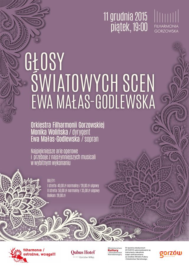 Głosy światowych scen EWA MAŁAS-GODLEWSKA