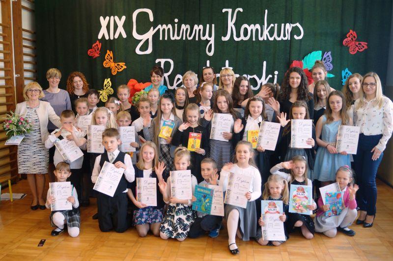 XIX  GMINNY  KONKURS  RECYTATORSKI  W  LUBCZYNIE