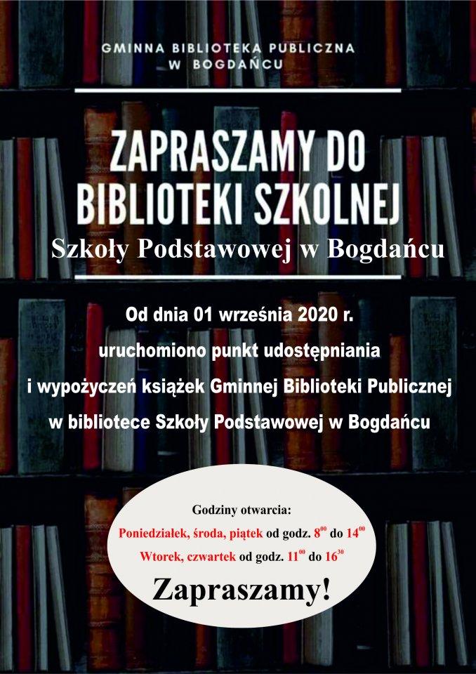 Gminna Biblioteka Publiczna w Bogdańcu
